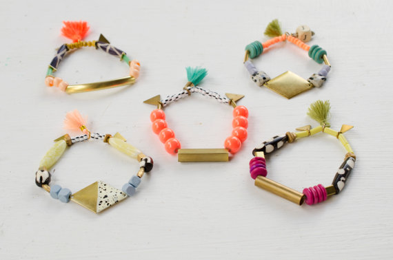 Stretchy Beaded Bracelets