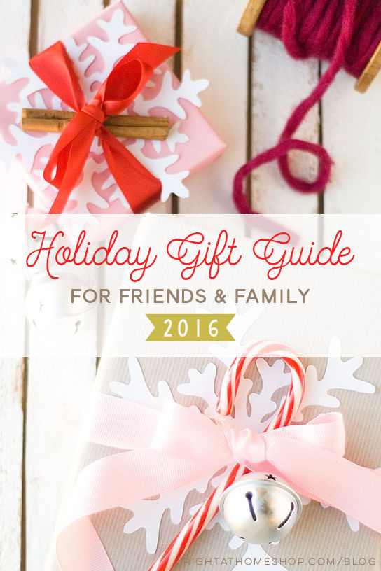 Holiday Gift Guide 2016 // 8 Ideas for Your Favorite Friends - rightathomeshop.com/blog