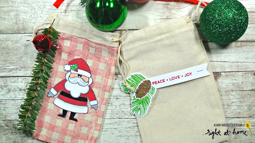 Homemade Holidays Day #3 with Kari // Muslin Bags - rightathomeshop.com/blog