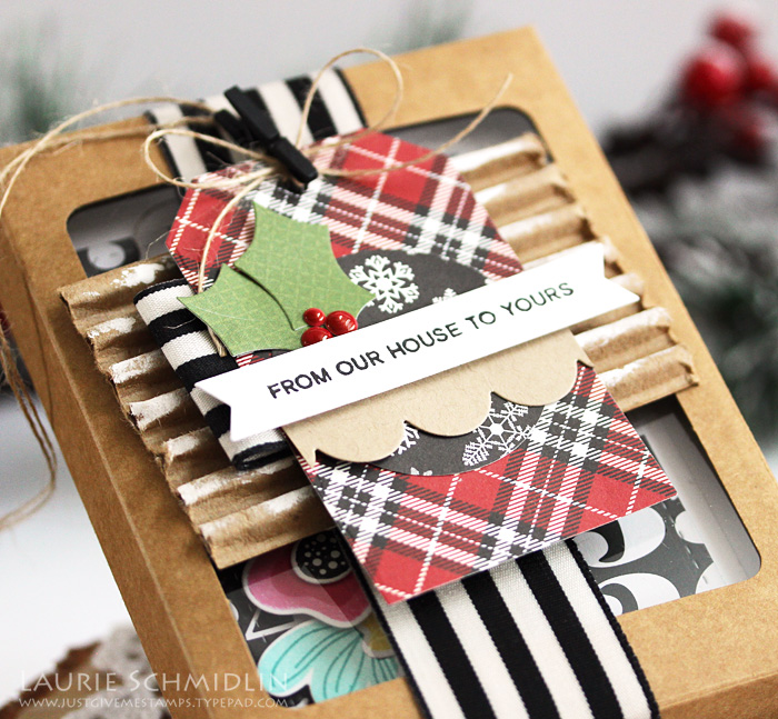 Homemade Holidays Day #4 with Laurie S. // Notecard Box - rightathomeshop.com/blog