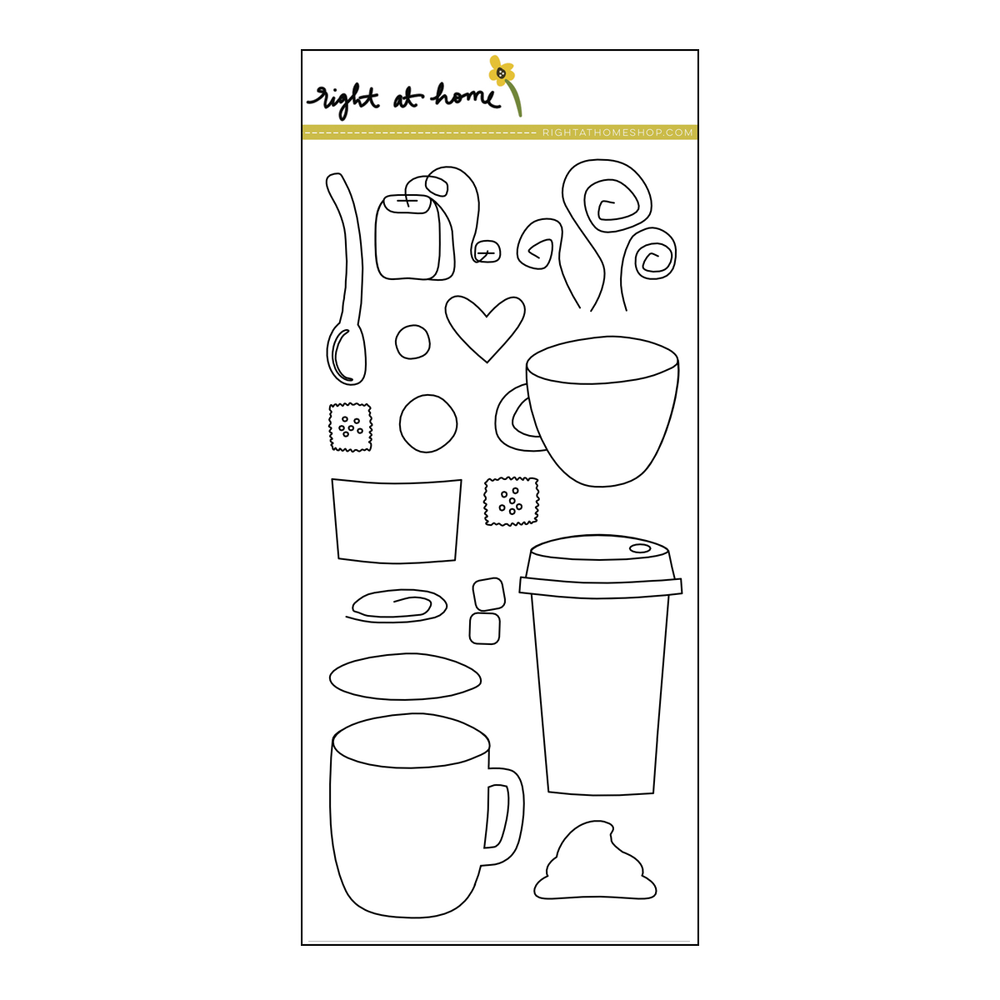 Right at Home Stamps // Cup of Joy
