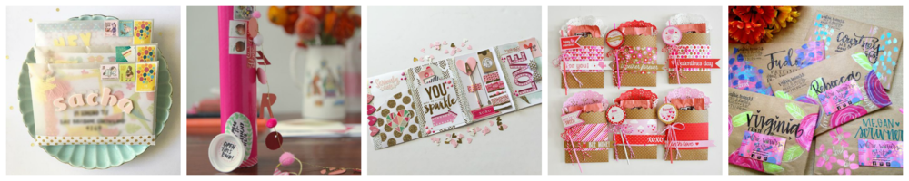 Valentine's Day Happy Mail Swap // 2017 - rightathomeshop.com/blog