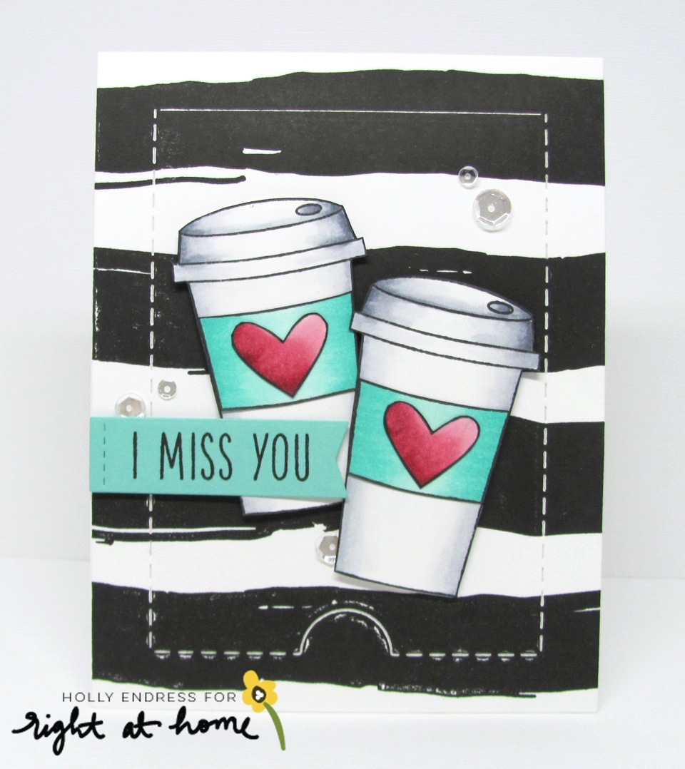 I Miss You Gift Card Holder by Holly // Gilmore Girls Inspired Post Week- rightathomeshop.com/blog