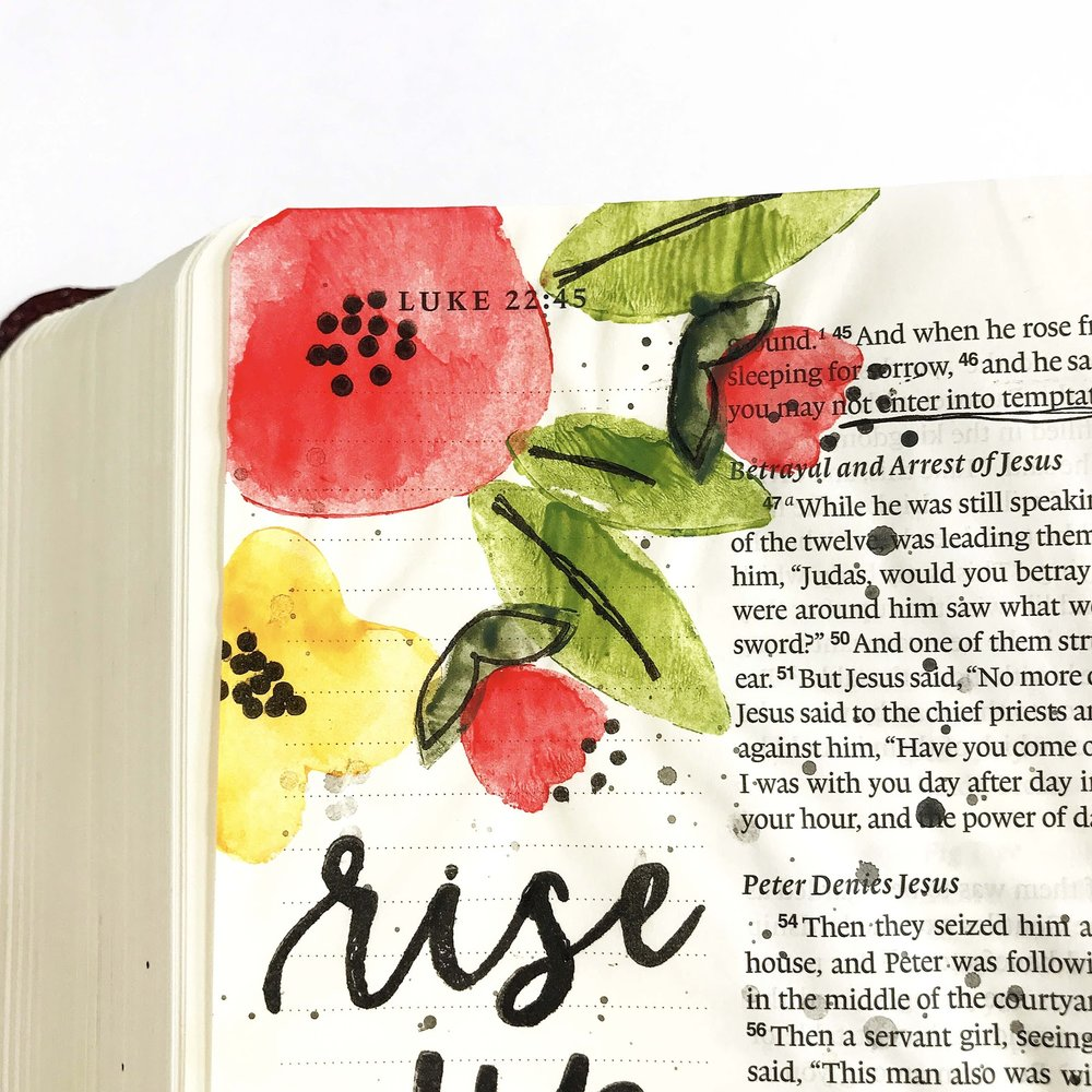 3.jpgRise Up and Pray Bible Journaling Entry by Lindsey // rightathomeshop.com/blog
