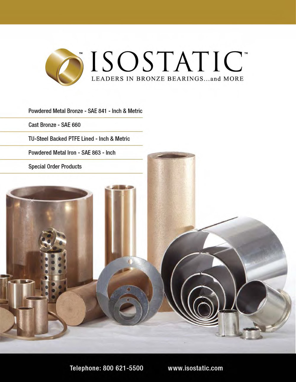 Isostatic Bronze Products