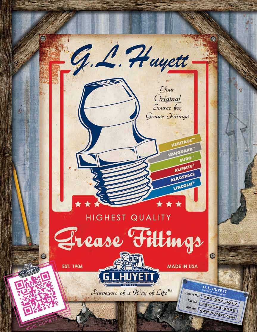 GL Huyett Grease Fittings