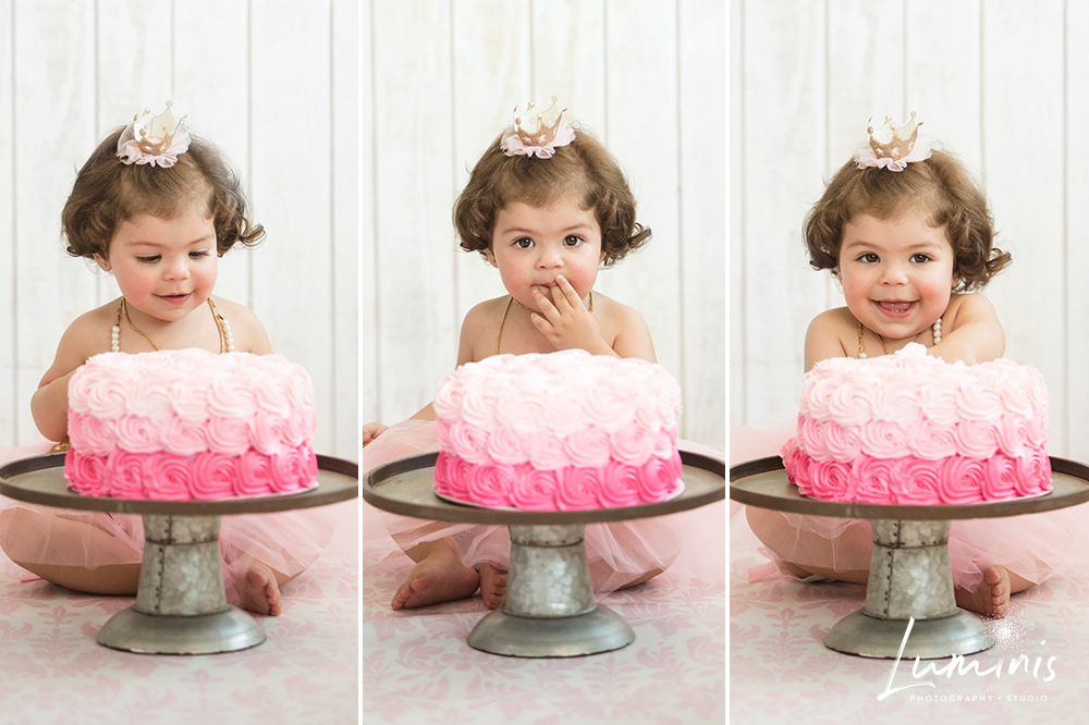 Folsom CA Family Photographer Cake Smash