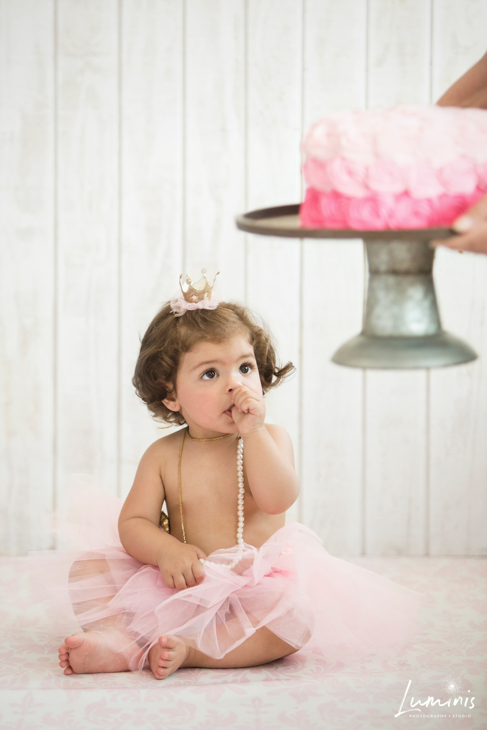 1st Birthday Cake Smash Session - Folsom Family Photographer