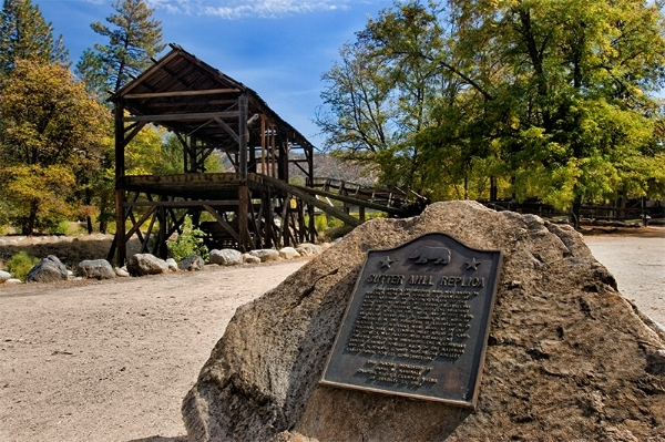 Sutter's Mill, where gold was first discovered in California and where I have taken hundred up people white water rafting over the years.