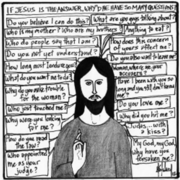 who did jesus think he was essay What did jesus do reading and unreading the gospels  he doesn't know who he is and then he begins to think he does and then he doubts and in pain and glory he dies and is known the story.