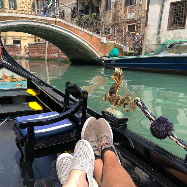 After passing Marco Polo's and Casanova's house (no joke), Michelle and I sat back, relaxed, and took in Venice without tipping over the Gondola. It was a good day.