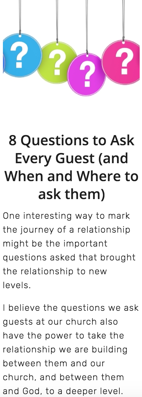 # 1 - Have the right conversations at the right time with guests.