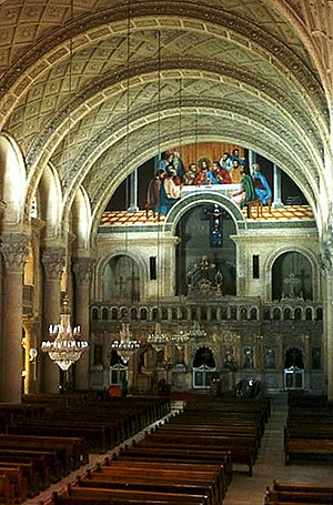 This is the original Saint Marks in Alexandria Egypt, a church that came from a Christian community Mark himself created in the 1st century.