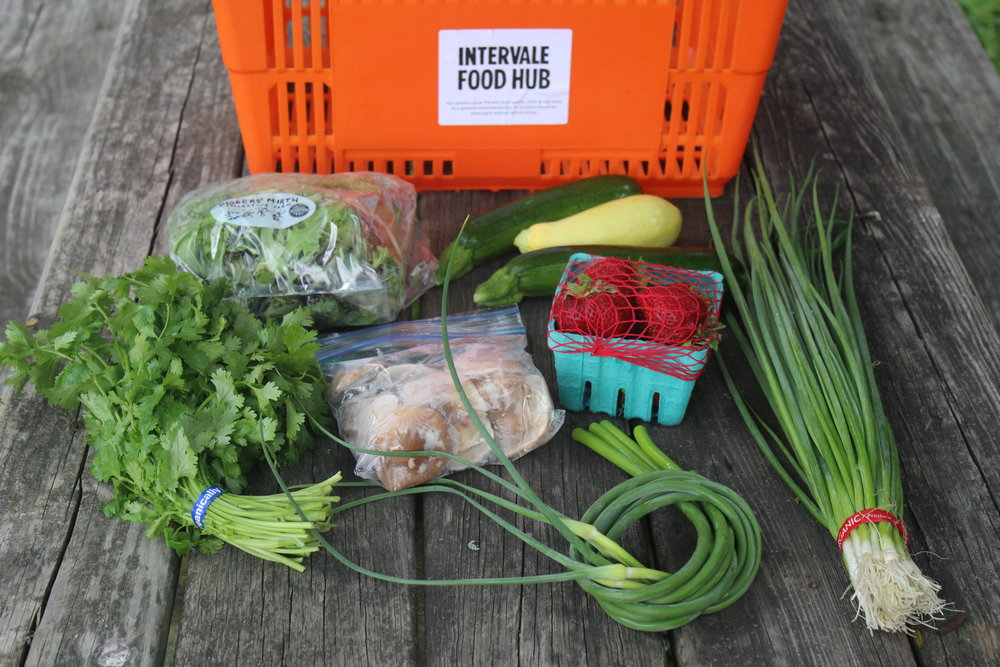 Intervale Food Hub Vermont Vegetable Summer 2017 Week #4
