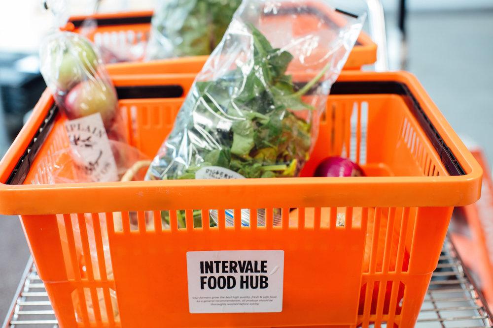 intervale food hub basket