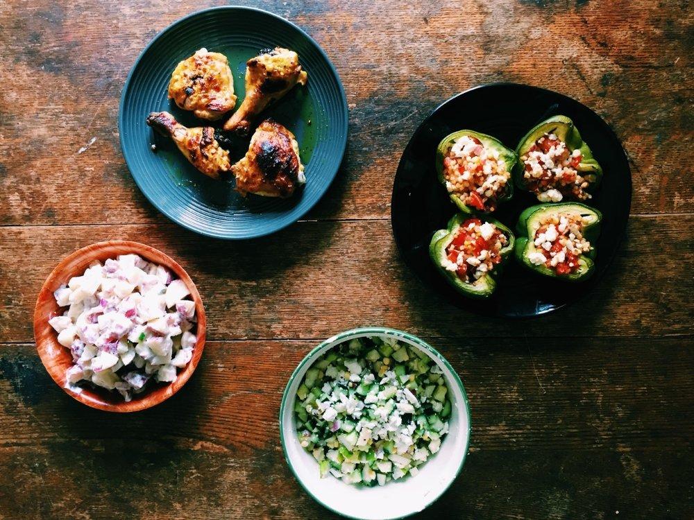 Intervale Food Hub Meal Plan