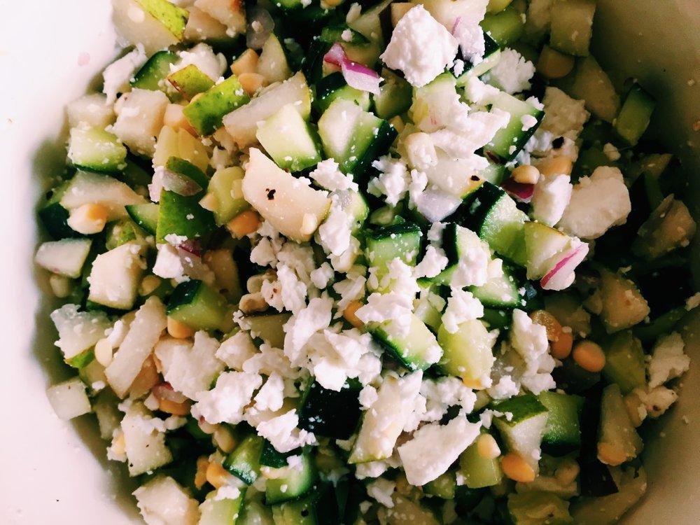 Crisp and Crunchy Summer Salad