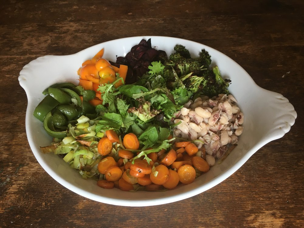 Intervale Food Hub Roasted Vegetable Salad