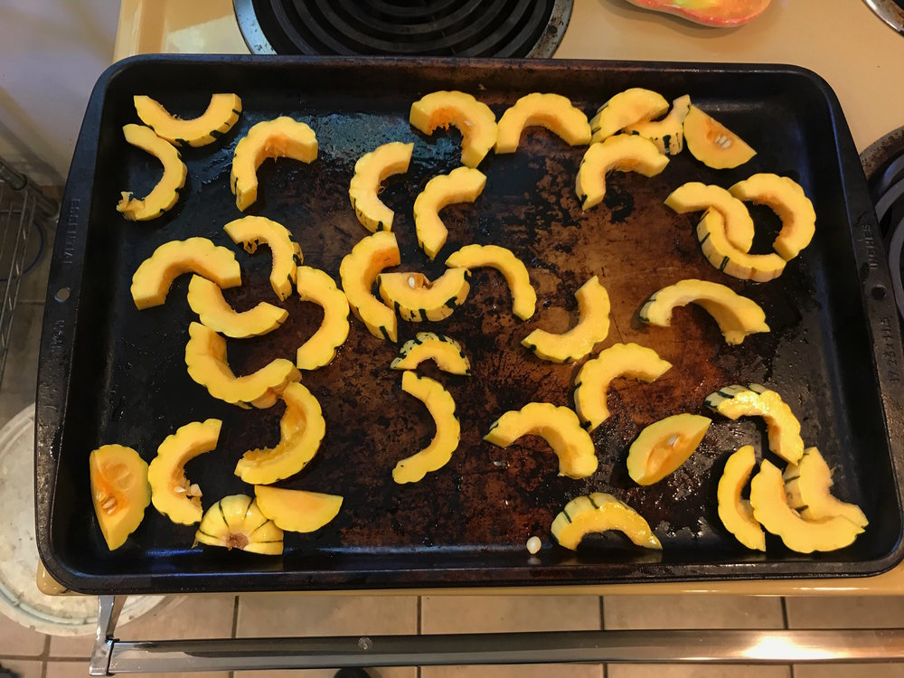 Simple Baked Delicata Squash Fries
