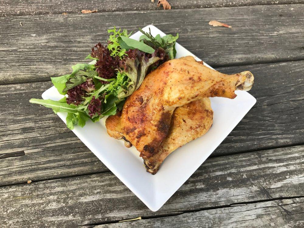 curried chicken legs