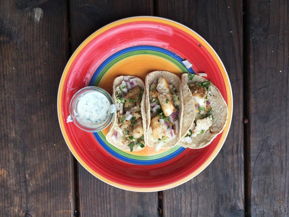 Crispy Pan Fried Fish Tacos