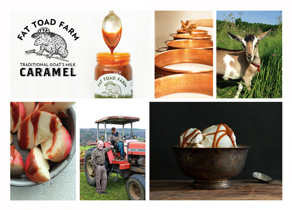 Photo collage courtesy of Fat Toad Farm.
