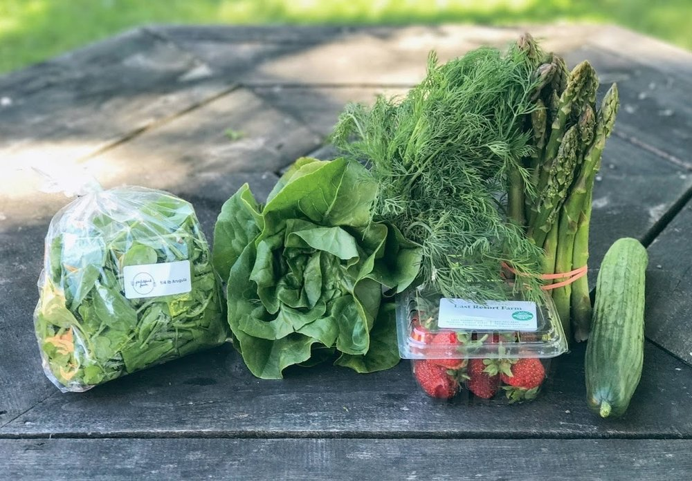 Intervale Food Hub Vermont Vegetable Package