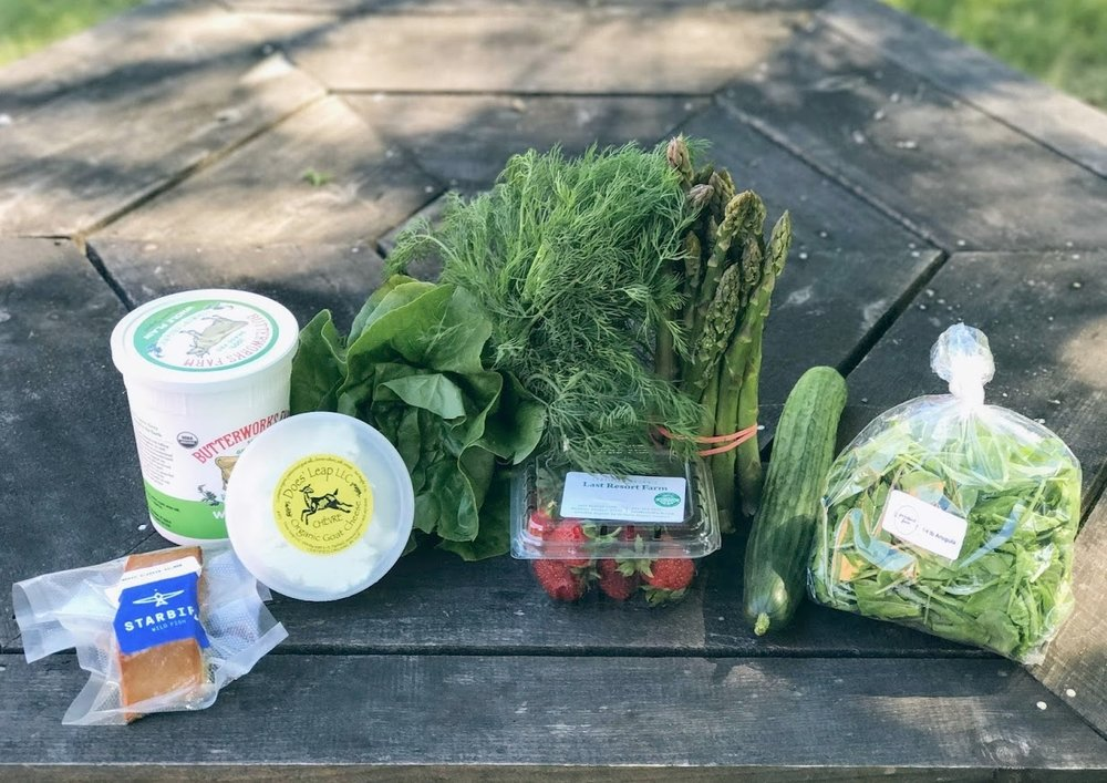 Intervale Food Hub Omnivore Package