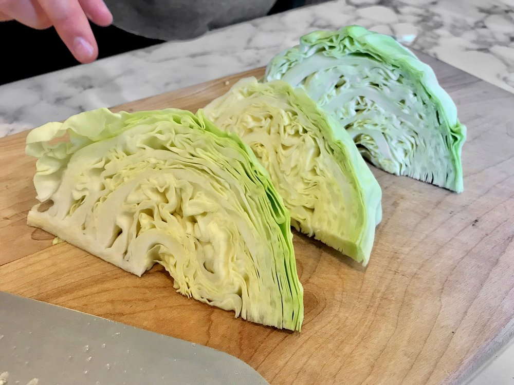 cabbage wedges