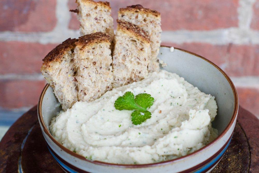 White Bean & Parsnip Dip