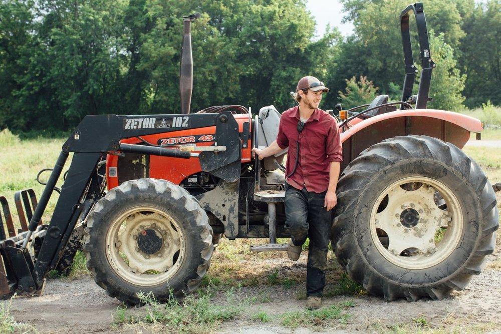 Silas Branson of Intervale Community Farm, Burlington, VT