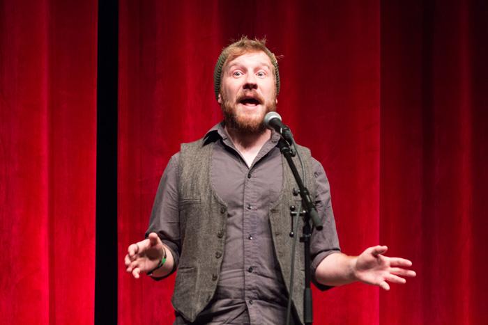 "Tell Us Something - Live Storytelling - Alex Sakariassen ""Reluctant Journey"""