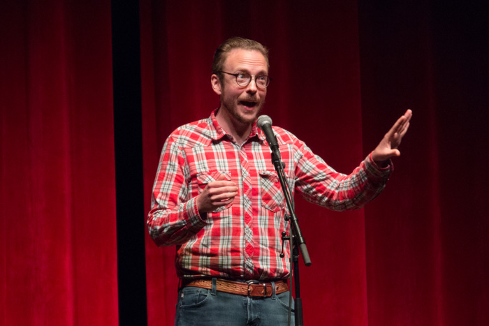 Tell Us Something - live storytelling - Svein Newman
