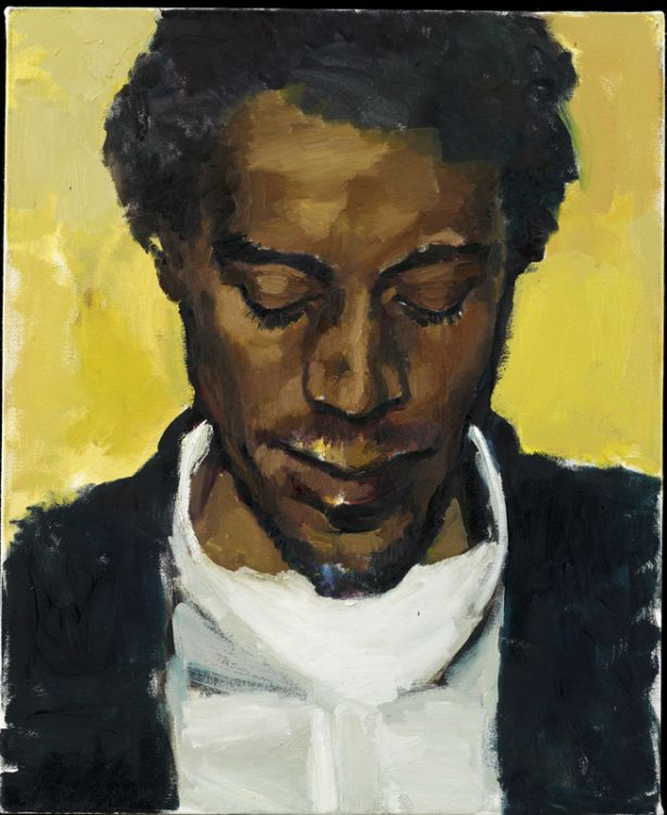 LYNETTE YIADOM-BOAKYE, Citrine by the Ounce, 2014, oil on canvas, 21 7/8 x 17 13/16 inches, 23 10/16 x 19 9/16 inches (framed), LYB14.006,  Jack Shainman Gallery , New York.