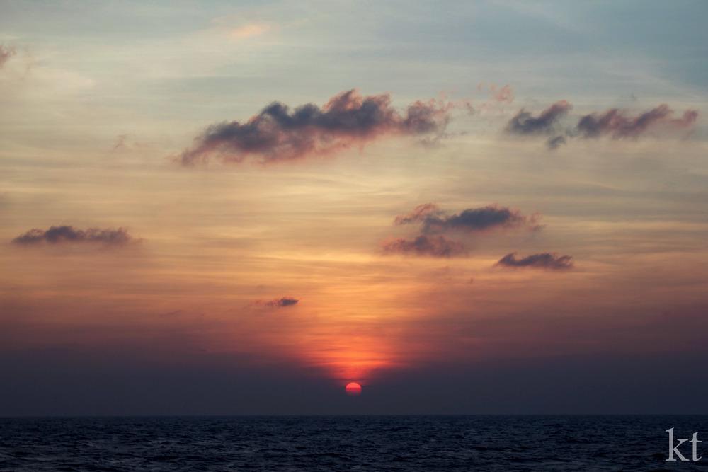 Mahanadi Sunset