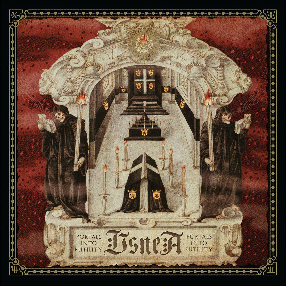 19. Usnea - Portals into Futility - Dirge-like funeral doom is hard to do without putting the listener to sleep but Usnea excel at this art form. They manage to conjure up an utterly bleak landscape and hold the listener's interest by building on sorrowful melodies alongside slabs of thick sludgy riffs.