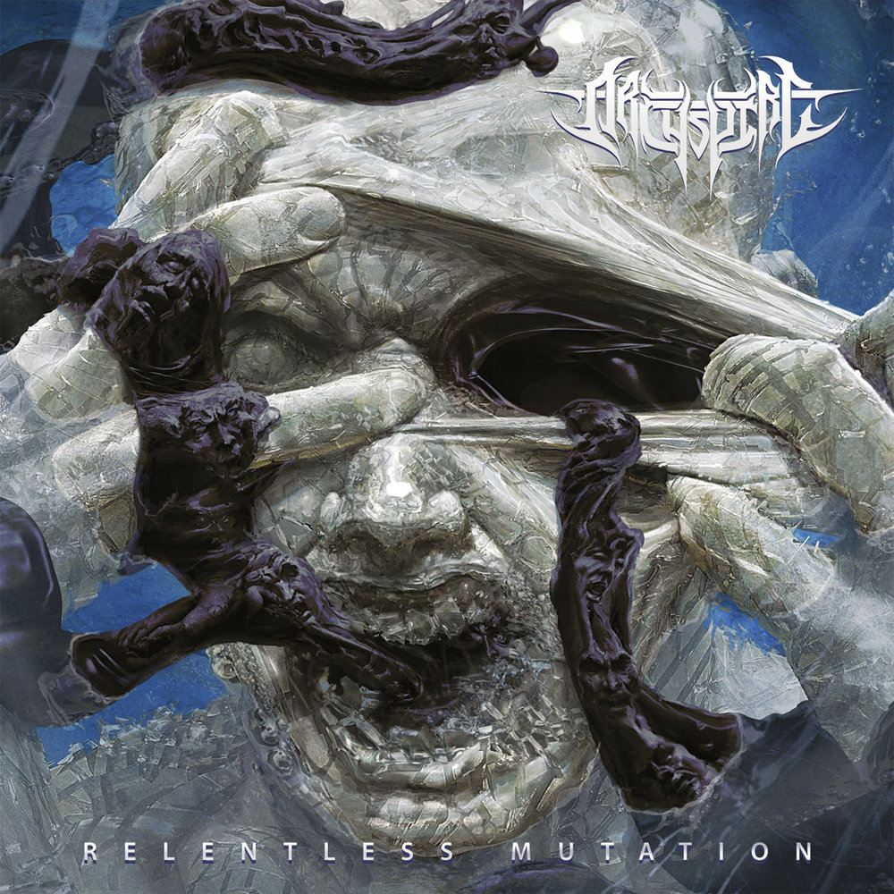 14. Archspire - Relentless Mutation - Archspire tread that fine line of overt virtuosity and brutality that borders on the tongue-in-cheek and the finesse of writing a technical death metal song remotely memorable and groovy (like Martyr or Spawn of Possession) --- and they do so really well on Relentless Mutation! Those still disappointed that Necrophagist's fourth album never materialized ought to be satiated by this offering.