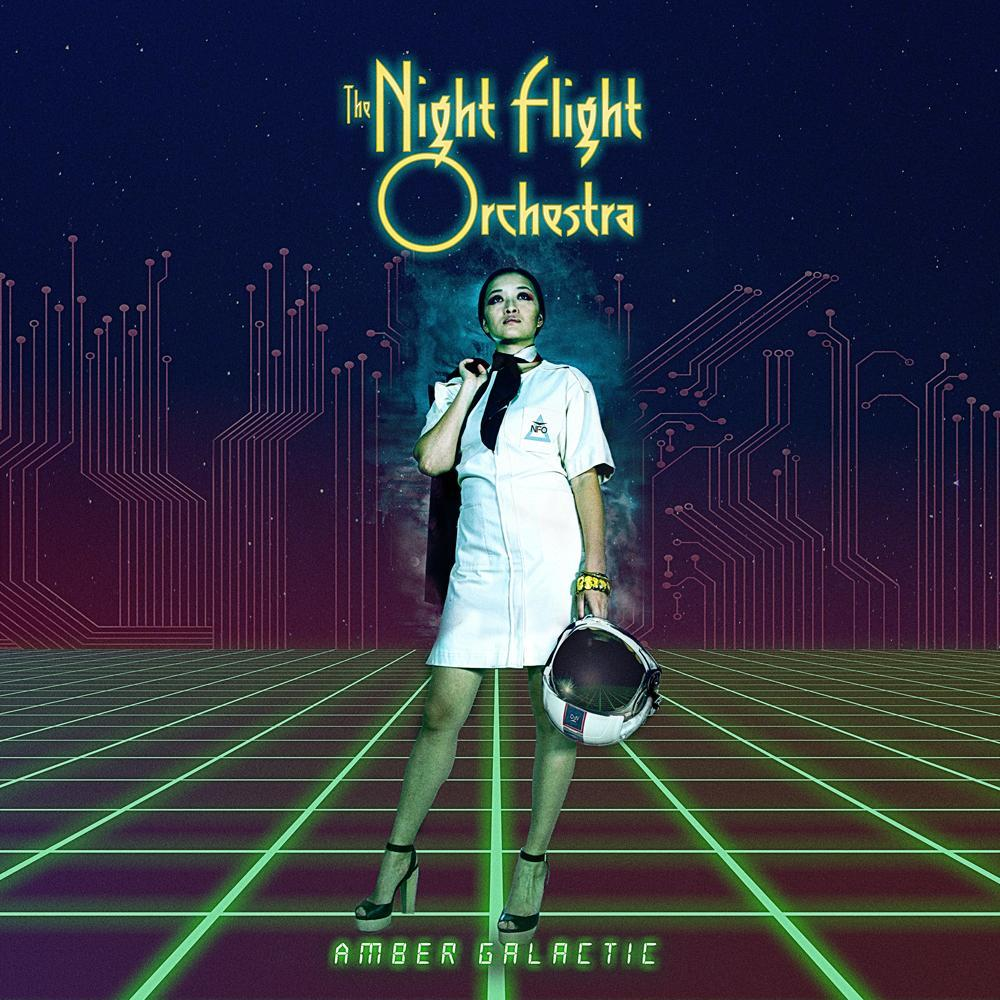 06. The Night Flight Orchestra - Amber Galactic - Night Flight Orchestra is pure, unadulterated fun. If you think that a group of Swedish melodic death metal musicians getting together to play late 70's/early 80's pop-rock would be a barrel of fun - you're absolutely right. And we're talking full. on. early 80s here - think Police/Toto/Supertramp/Billy Joel - yes, this is #6 on my 2017