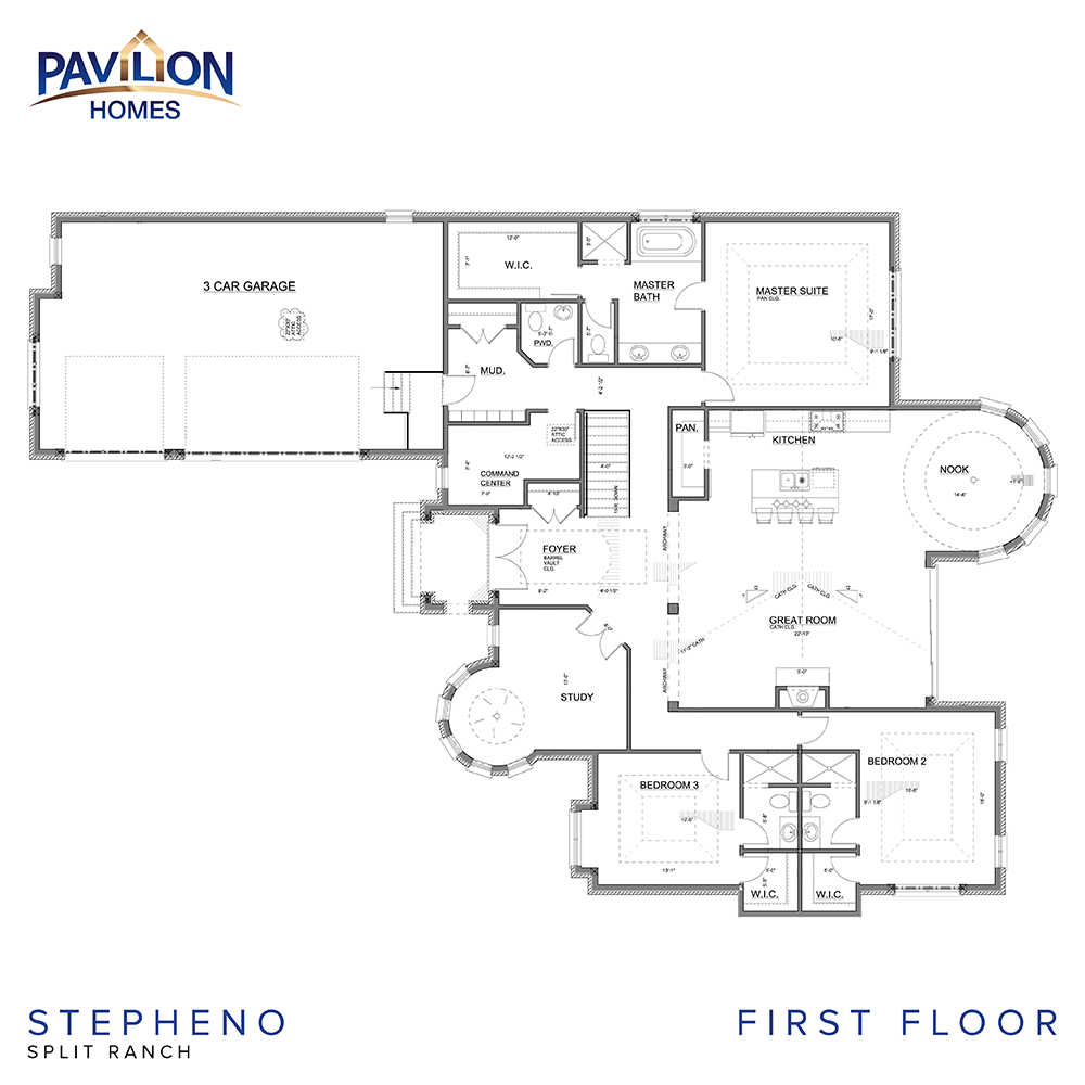 stepheno pavilion homes floor plan