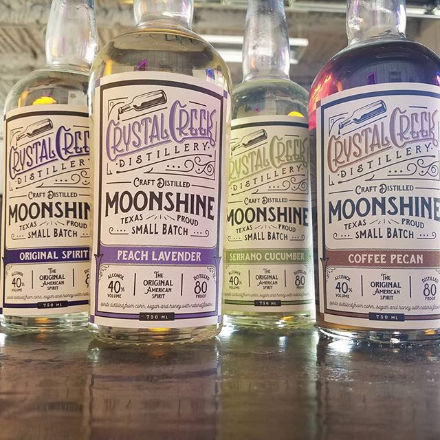 Pick your poison on this hot hot day! . . . . TO GO BOTTLES ONLY $22.99 . . . We have bourbon now too 😉 . . . #bourbon #saturday #daydrinking #moonshine #livemusic #cocktails  #seranocucumber #peachlavender #classic #coffeepecan #bar #bringyourdog #drinks