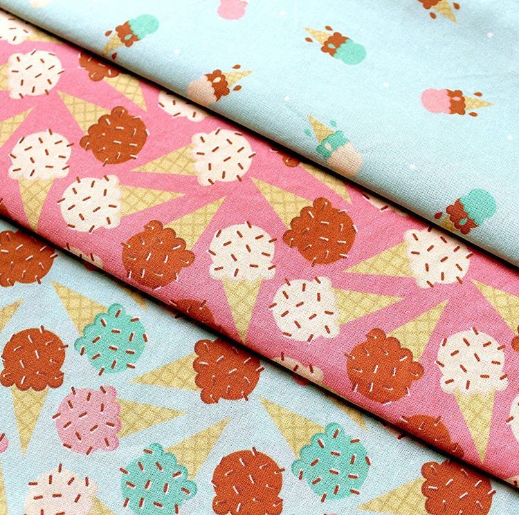 Summer Sweets fabrics arrived this week. They look fantastic. I'm getting out the sewing machine to make these beauties into stylish napkins just in time for summer BBQs.