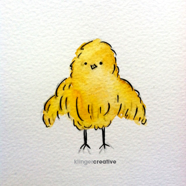 Happy Easter. I'll just be over here drawing baby chicks. Peep Peep.