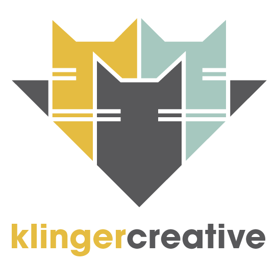 My new logo! Dig it. Klinger Creative, 2016.