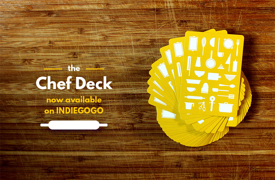 Get your own  Chef Deck , NOW!  What are you waiting for?