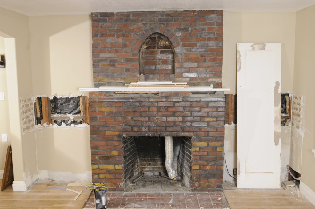 EmmaShea Interiors Bungalow Fireplace Redesign