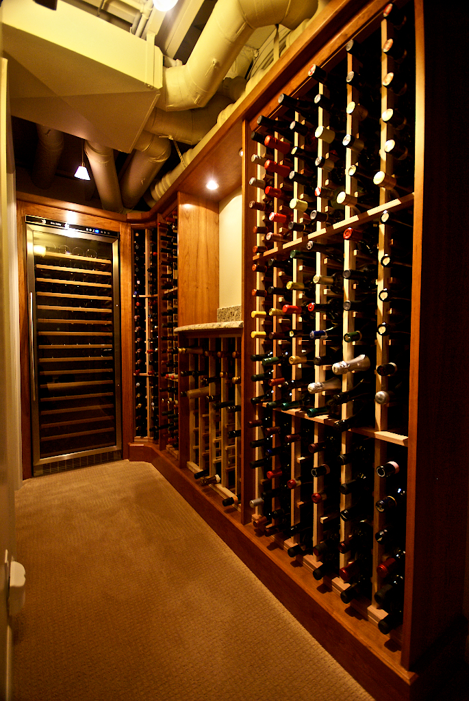 EmmaShea Interiors Sweet Little Wine Cellar Design