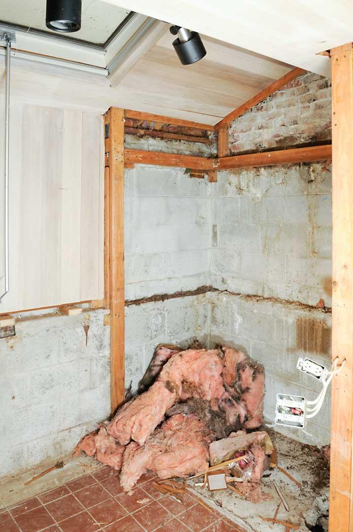 Before: Sauna Room