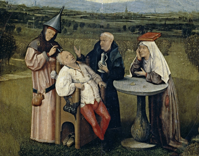 Cutting the Stone (circa 1494) by Hieronymus Bosch..jpg