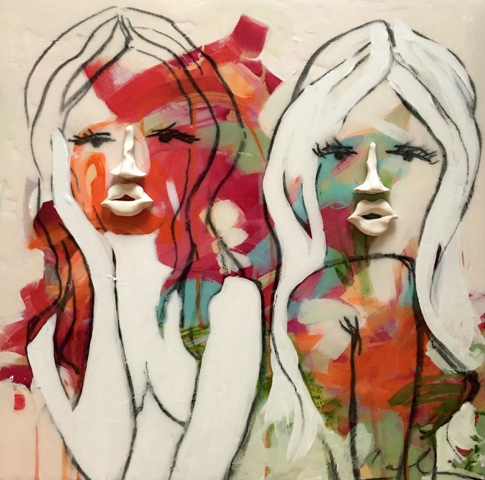 Adalie & Dita Pout 18x18 Caroline Boykin.jpg