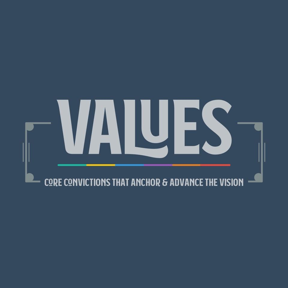Values - Core Convictions that Anchor & Advance the Vision